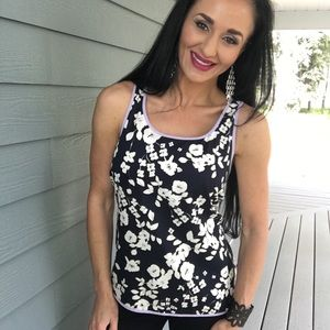 Vince Camuto sleeveless floral top
